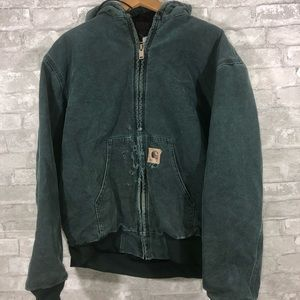 Carhartt J68HTG Quilted Flannel Lined Jacket
